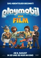 Playmobil: The Movie - German Movie Poster (xs thumbnail)