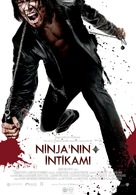 Ninja Assassin - Turkish Movie Poster (xs thumbnail)