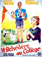 Mr. Belvedere Goes to College - French Movie Poster (xs thumbnail)