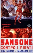 Sansone contro i pirati - Italian Movie Poster (xs thumbnail)