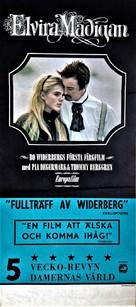 Elvira Madigan - Swedish Movie Poster (xs thumbnail)