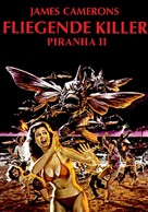 Piranha Part Two: The Spawning - German Movie Cover (xs thumbnail)