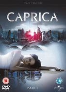 """Caprica"" - British DVD cover (xs thumbnail)"