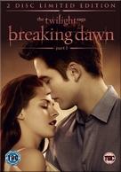 The Twilight Saga: Breaking Dawn - Part 1 - British DVD cover (xs thumbnail)