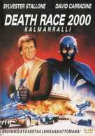 Death Race 2000 - Finnish Movie Cover (xs thumbnail)