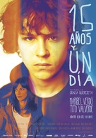 15 años y un día - Spanish Movie Poster (xs thumbnail)
