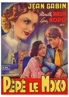 Pépé le Moko - Belgian Movie Poster (xs thumbnail)