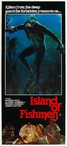The Island of the Fishmen - Australian Movie Poster (xs thumbnail)