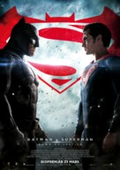 Batman v Superman: Dawn of Justice - Swedish Movie Poster (xs thumbnail)
