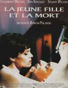 Death and the Maiden - French Movie Poster (xs thumbnail)
