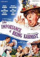 The Importance of Being Earnest - British DVD cover (xs thumbnail)