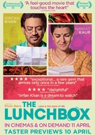 The Lunchbox - British Movie Poster (xs thumbnail)