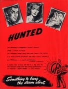 Hunted - British poster (xs thumbnail)