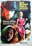 Sei donne per l'assassino - Spanish Movie Poster (xs thumbnail)
