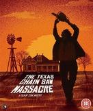 The Texas Chain Saw Massacre - British Blu-Ray movie cover (xs thumbnail)