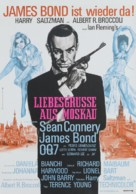 From Russia with Love - German Movie Poster (xs thumbnail)