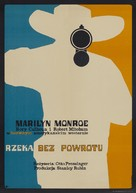 River of No Return - Polish Theatrical poster (xs thumbnail)