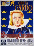 Queen Christina - Danish Movie Poster (xs thumbnail)