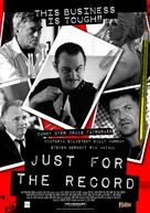 Just for the Record - British Movie Poster (xs thumbnail)