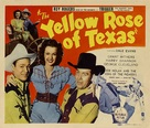 The Yellow Rose of Texas - Movie Poster (xs thumbnail)