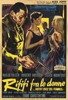 Du rififi chez les femmes - Italian Movie Poster (xs thumbnail)