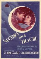It Happened One Night - Spanish Theatrical movie poster (xs thumbnail)