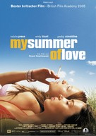 My Summer of Love - German Movie Poster (xs thumbnail)