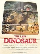 The Last Dinosaur - British Movie Poster (xs thumbnail)