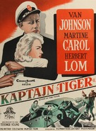 Action of the Tiger - Danish Movie Poster (xs thumbnail)