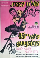 The Delicate Delinquent - Swedish Movie Poster (xs thumbnail)