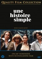 Une histoire simple - Dutch DVD cover (xs thumbnail)
