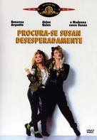 Desperately Seeking Susan - Brazilian DVD movie cover (xs thumbnail)