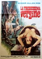 Die Schlangengrube und das Pendel - Italian Movie Poster (xs thumbnail)