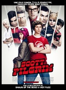 Scott Pilgrim vs. the World - French Movie Poster (xs thumbnail)