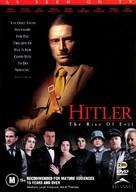 Hitler: The Rise of Evil - Australian DVD cover (xs thumbnail)