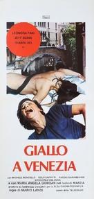 Giallo a Venezia - Italian Movie Poster (xs thumbnail)
