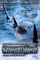 Sharkman - Spanish DVD movie cover (xs thumbnail)