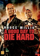 A Good Day to Die Hard - Danish DVD cover (xs thumbnail)