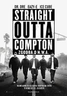 Straight Outta Compton - Slovenian Movie Poster (xs thumbnail)