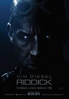Riddick - Vietnamese Movie Poster (xs thumbnail)