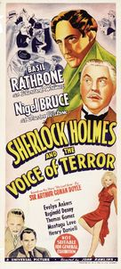Sherlock Holmes and the Voice of Terror - Australian Movie Poster (xs thumbnail)
