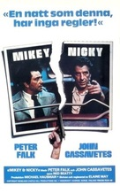Mikey and Nicky - Swedish Movie Poster (xs thumbnail)