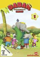 """""""Babar and the Adventures of Badou"""" - German DVD movie cover (xs thumbnail)"""