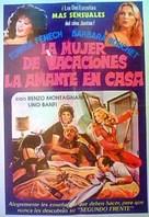 La moglie in vacanza... l'amante in città - Argentinian Movie Poster (xs thumbnail)