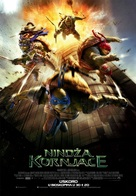 Teenage Mutant Ninja Turtles - Serbian Movie Poster (xs thumbnail)