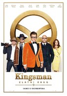 Kingsman: The Golden Circle - Serbian Movie Poster (xs thumbnail)