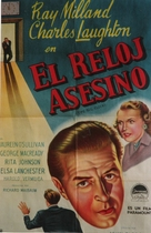 The Big Clock - Argentinian Movie Poster (xs thumbnail)
