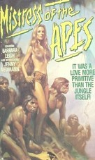 Mistress of the Apes - VHS cover (xs thumbnail)