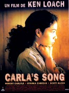Carla's Song - French Movie Poster (xs thumbnail)