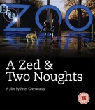 A Zed & Two Noughts - British Blu-Ray cover (xs thumbnail)